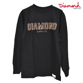 メンズ 長袖 Tシャツ Diamond Supply Co. ダイヤモンド サプライ D19DMPC014 SF DIAMOND LS TEE GG4 L6