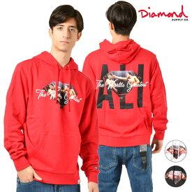 メンズ パーカー Diamond Supply Co. ダイヤモンド サプライ D19DMTG403S DMND X MUHAMMAD ALI ALI SIGN HOODIE GG4 L24