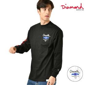 メンズ 長袖Tシャツ Diamond Supply Co. ダイヤモンド サプライ D19DMPC305S CHE SUPER SPORT GG4 L23