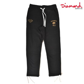 メンズ ロングパンツ Diamond Supply Co. ダイヤモンド サプライ D19DMBD406S DMND X MUHAMMAD ALI FIGHT SWEAT PANT GG4 L24