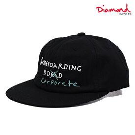 キャップ Diamond Supply Co. ダイヤモンド サプライ A19DMHG003 SKATE CRIME 6 PANEL GGS B4