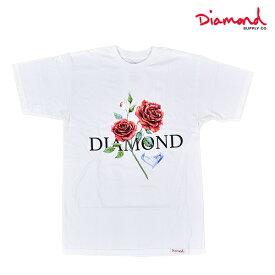 Diamond Supply Co. ダイヤモンド サプライ DESI RED ROSE S/S TEE A20DMPA006 メンズ 半袖 Tシャツ HH1 E29