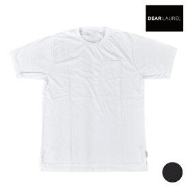 DEAR LAUREL ディアローレル D20F2101 メンズ 半袖 Tシャツ Repur-P 制菌 消臭 抗ウイルス 抗カビ HH3 H14