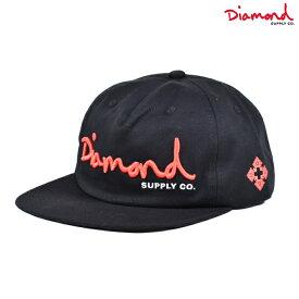 Diamond Supply Co. ダイヤモンド サプライ OG SCRIPT UNSTRUCTURED SNAPBACK A20DMHA002 キャップ HH1 H12