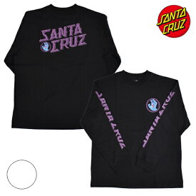 SANTA CRUZ サンタクルーズ HAND STAMO 502203403 メンズ 長袖 Tシャツ ムラサキスポーツ限定 HH3 H25