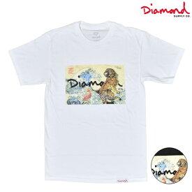 Diamond Supply Co. ダイヤモンド サプライ TIGER WAVE TEE タイガー ウェーブ ティー Z00DMPA506 メンズ 半袖 Tシャツ HH3 J10