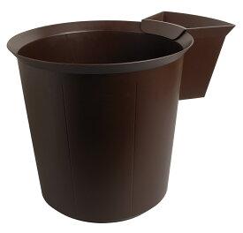 【11/27(金)までポイント5倍★】MultiForm EXACOMPTA エグザコンタ ゴミ箱 18L チョコレート エグザクティブ