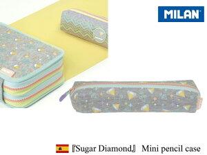 【マラソン期間全品ポイント10倍♪】MILAN SUGAR DIAMOND mini pencil case ミラン 【シュガーダイヤモンド】ミニ ペンケースおしゃれ かわいい ヨーロッパ 文房具 文具 筆箱