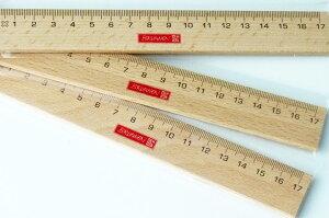 BRUNNEN ブルンネン 木製 定規 17cm Wooden Rulerおしゃれ ヨーロッパ ドイツ 文房具 文具 ナチュラル サステイナブル エシカル エコ 天然木 さし