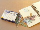 【MASカラフルペーパークリップ】【ポスト投函OK】マス デスク 整理 ヨーロッパ文具 雑貨 おしゃれ トルコ オフィス 事務用品 メモ 