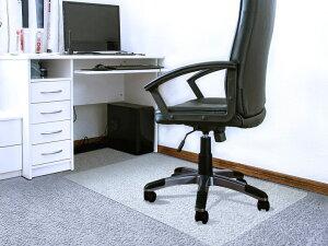 FLOORTEX フロアテックス 長方形 ポリカーボネート チェアマット【カーペット用 119x89cm】118923ERおしゃれ オフィス リモートワーク 椅子