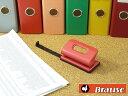 【Brause 2穴パンチ Mini:全4色】【宅配】ブラウズ ドイツ ブラック ブルー レッド グリーン 穴あけ 書類整理 ファイ…