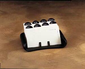 【TENEX カードファイル】【宅配】テネックス アメリカ オフィス 事務用品 卓上 名刺 小物整理 雑貨 レトロ おしゃれ レア ブラック 黒 BK