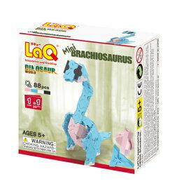 【LaQ Dinosaur World Mini Brachiosaurus】 【宅配】 ラキュー 日本製 手作り ブロック 知育 教材 子供 プレゼント クラフト リハビリ 玩具 おもちゃ 知育教材 脳科学 数学 パーツ 恐竜 レックス 【楽ギフ_包装】