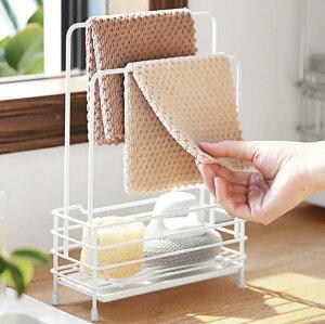 ふきんスタンド キッチン タオル掛け 布巾ハンガー 拭きんスタンド フキンハンガー ふきん掛け 置き型布巾ハンガー おしゃれ 洗面所 シンプル