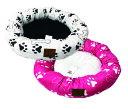 【送料無料】小型犬用ベッド☆ホワイトとピンク2色☆☆軽量☆滑り止め付