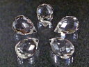 天然石ビーズ 水晶ドロップクレオパトラ12×8mm・1連40cm30個前後