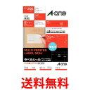A-one 31538 エーワン ラベルシール プリンタ兼用 21面 100枚 (2100片) A4サイズ 送料無料 【SJ03730】