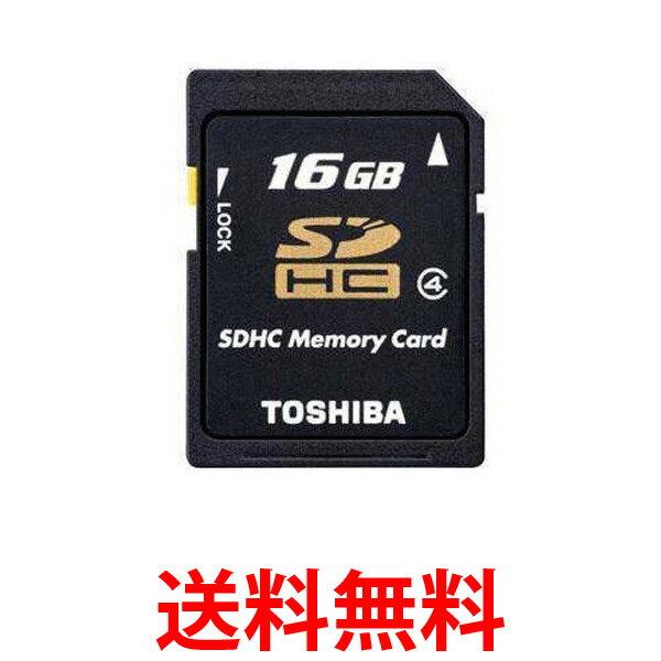 TOSHIBA SD-L016G4 東芝 SDHCメモリーカード 16GB CLASS4 SDL016G4 送料無料 【SJ04201】