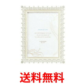ラドンナ フレーム ブライダル 写真立て 白 結婚祝い プレゼント MJ83L ホワイト MJ83-L-WH 送料無料 【SK00246】