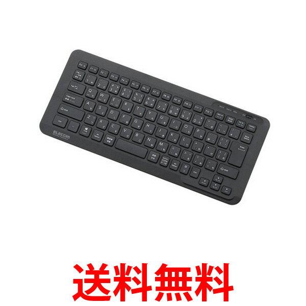ELECOM TK-FBP083BK Bluetoothキーボード ミニタイプ Windows Mac iOS Android対応 パンタグラフ式 ブラック TKFBP083BK エレコム 送料無料 【SK02522】