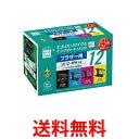 ecorica ECI-BR124P/BOX エコリカ ECIBR124P リサイクルインクカートリッジ BROTHER 4色セット LC124PK 互換 LC12-4PK 送料無料 【SK03572