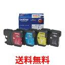 《送料無料》brother LC11-4PK ブラザー LC114PK 純正 インクカートリッジ 4色セット 【SK05421】