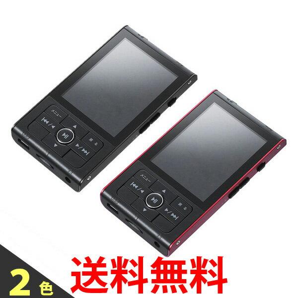 グリーンハウス MP3プレーヤー kana RT 8GBメモリー内蔵 microSD/microSDHC(~32GB)対応 GH-KANART8-BK GH-KANART8-RD 送料無料 【SK00145-Q】