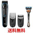 Braun BT3040 ブラウン 電動バリカン ヒゲトリマー 髭剃り 髪の毛 0.5mm幅 39段階長さ調節 水洗い可 送料無料 【SK0…
