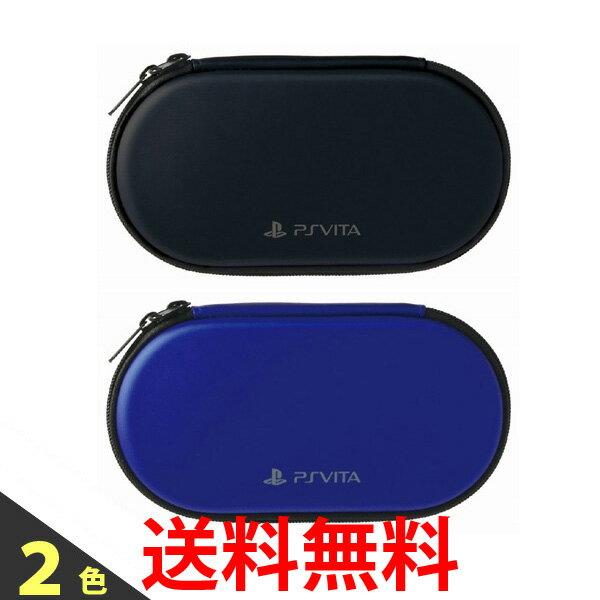 PS Vita Newハードポーチ for PlayStationVita BLACK BLUE ケース PCH-2000 / 1000 HORI ホリ 送料無料 【SK04955-Q】