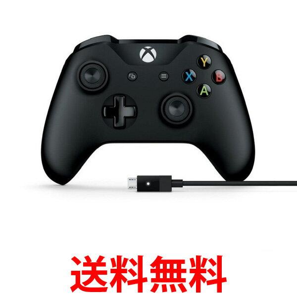 Microsoft 4N6-00003 マイクロソフト ゲームコントローラー Bluetooth 有線接続 xbox one/Windows対応 PC用USBケーブル同梱 4N600003 送料無料 【SK06729】