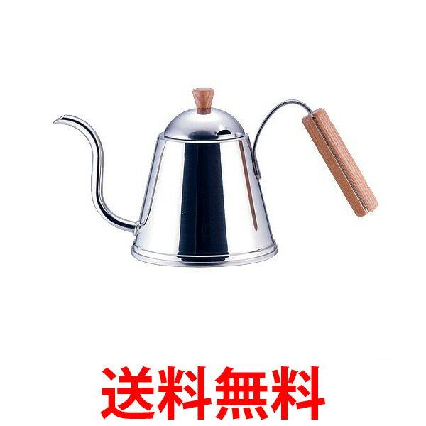 yoshikawa SH7090 ヨシカワ カフェタイム CAFE TIME 木柄ドリップポット IH200V対応 送料無料 【SK04655】