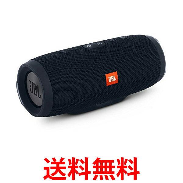 JBL CHARGE3 Bluetoothスピーカー IPX7防水/ポータブル/パッシブラジエーター搭載 ブラック JBLCHARGE3BLKJN 送料無料 【SK08408】