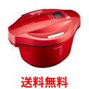 シャープ(SHARP) ヘルシオ(HEALSIO) ホットクック KN-HT24B-R 水なし自動調理鍋 2.4L 大容量タイプ レッド 送料無料 …