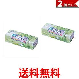 驚異の防臭袋 BOS(ボス)LLサイズ60枚入り 大人用おむつ・うんち処理袋 袋カラー:ホワイト 2個セット 送料無料 【SK00357】