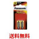 Panasonic LR1XJ/2B パナソニック アルカリ乾電池 単5 (2本入) ブリスター包装 送料無料 【SJ01885】