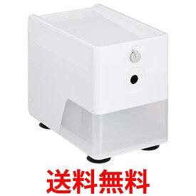 ナカバヤシ DPS-601W ホワイト 電動鉛筆削り スリムトレータイプ 送料無料 【SK07154】