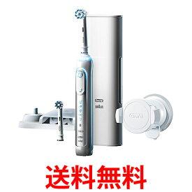 BRAUN ブラウン オーラルB 電動歯ブラシ D7015256XCTWH ジーニアス9000 ホワイト 送料無料 【SK09635】