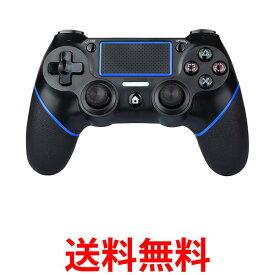 ポイント最大24.5倍!! PS4 コントローラー 互換 ワイヤレス Bluetooth タッチパッド 加速度センサー 重力感応 6軸センサー イヤホンジャック付き PC Windows10対応 (管理C) 送料無料 [R]【SK12011】