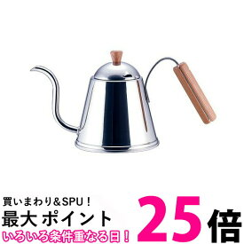 ポイント最大25.5 yoshikawa SH7090 ヨシカワ カフェタイム CAFE TIME 木柄ドリップポット IH200V対応 送料無料   【SK04655】