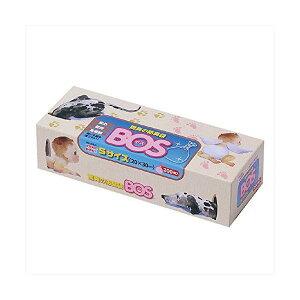 驚異の防臭袋BOS S 200枚 BOS-2047A [ピンク]