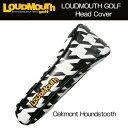 [30%off][日本規格]ラウドマウス ヘッドカバー(ユーティリティ用) (Oakmont Houndstooth オークモント) LM-HC0001/UT/...