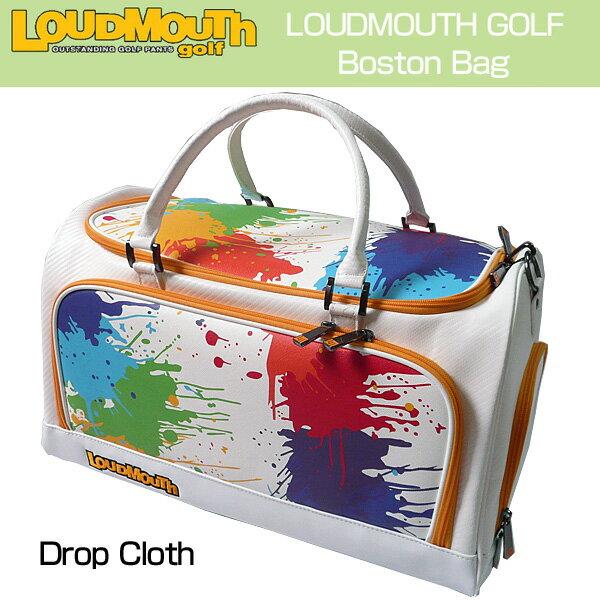 """[クーポン有][日本規格]Loudmouth/ラウドマウス 2016 """"Drop Cloth"""" ボストンバッグ(シューズインポケット付) LM-BB0001-001 ラウドマウス """"ドロップクロス""""[新品]メンズ/レディース/子供用子ども用こども用[TW10]"""