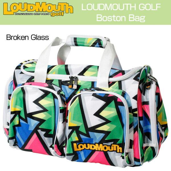 [クーポン有][日本規格]ラウドマウス 2017 ボストンバッグ LM-BB0002-066 Broken Glass ブロークングラス[新品]17SSゴルフLoudmouth