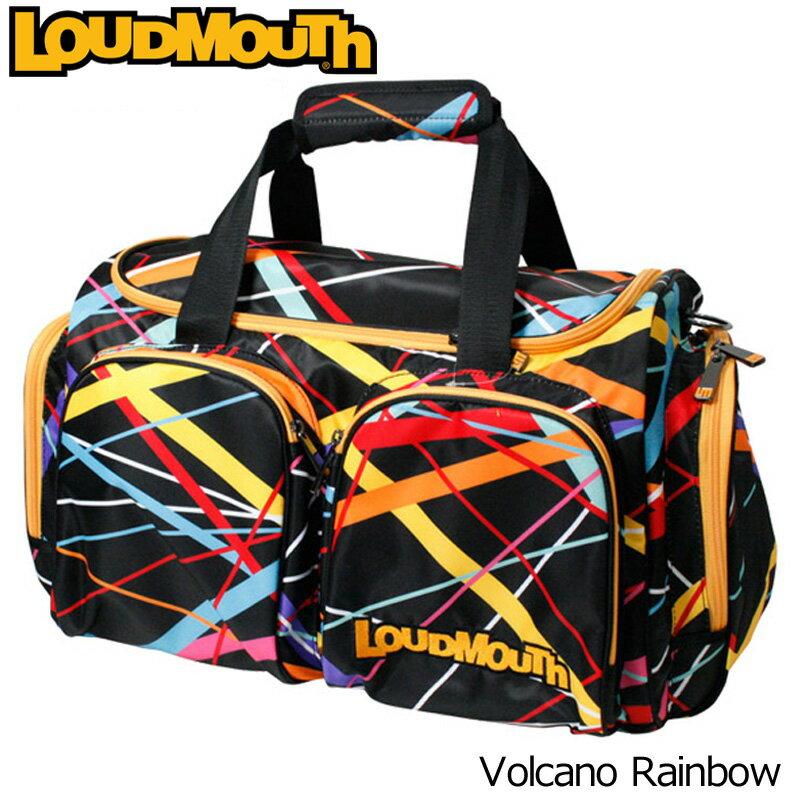 [クーポン有][日本規格]ラウドマウス 2017 ボストンバッグ LM-BB0002-082 Volcano Rainbow ボルケーノレインボー[新品]17SSゴルフLoudmouth