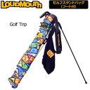 [クーポン有][日本規格]ラウドマウス セルフスタンドキャリーバッグ(081/Golf Trip ゴルフトリップ)LM-CC0003[新品]2017SS Lou...