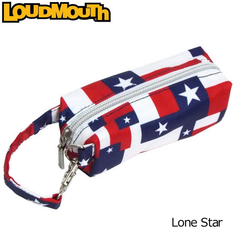 [Newest][日本規格]ラウドマウス 2018 ボールホルダー (ローンスター Lone Star) 768935(115)[新品]18SS Loudmouth ゴルフボールポーチ ボールケース メンズ レディース ラウンド小物 LM