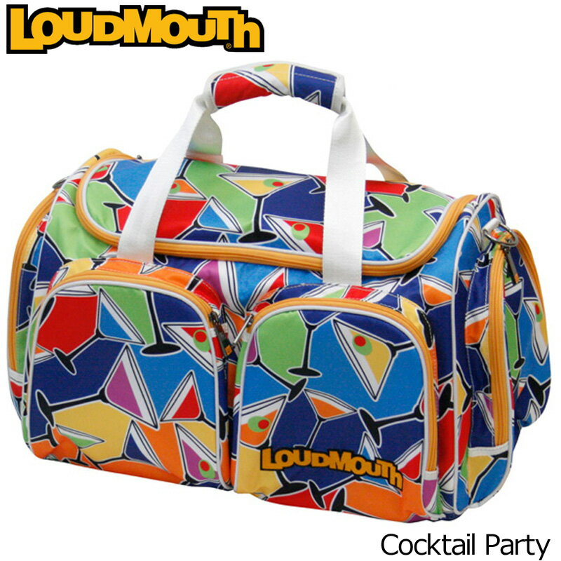 [クーポン有][日本規格]ラウドマウス 2017 ボストンバッグ LM-BB0002(777969)-059 Cocktail Party カクテルパーティー[新品]17FWゴルフ用バッグLoudmouth LM