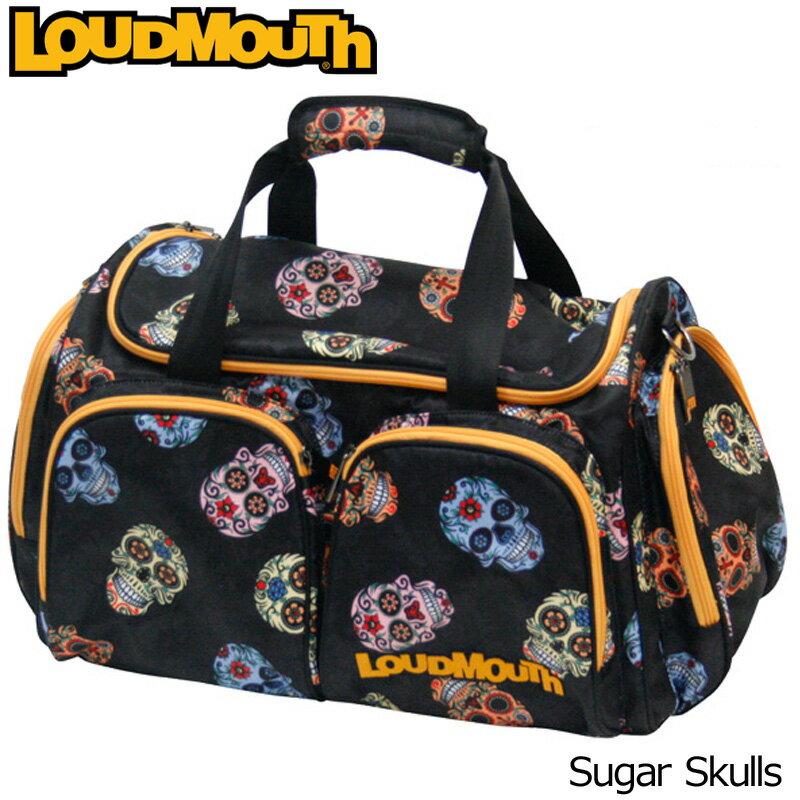 [クーポン有][日本規格]ラウドマウス 2017 ボストンバッグ LM-BB0002(777969)-058 Sugar Skulls シュガースカル[新品]17FWゴルフ用バッグLoudmouth LM