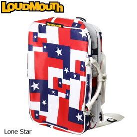 ラウドマウス 3WAY バックパック ローンスター Lone Star LM-BP0001/768990(115) 【日本規格】【新品】 18SS Loudmouth ゴルフ用品 ボストンバッグ 派手な 柄 目立つ 個性的 %off【LMSL】